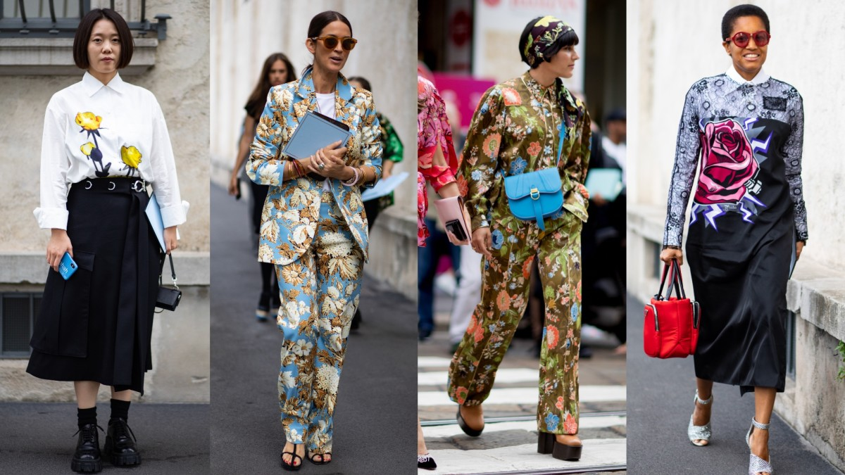Uniform Colors at Fashion Week